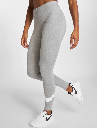 Nike Damen Legging Club Logo 2 in grau