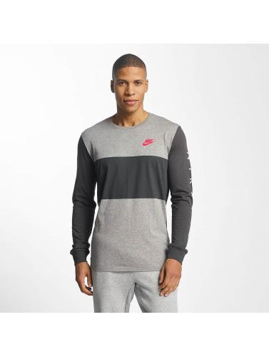 Nike Herren Longsleeve Air NSW in grau