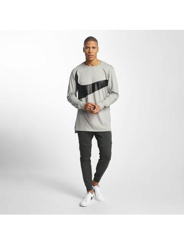 Nike Herren Longsleeve NSW Hybrid in grau