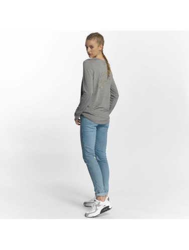 Nike Damen Longsleeve NSW Metallic in grau