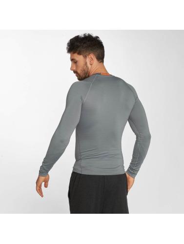 Nike Performance Hombres Camiseta de manga larga Pro Warm in gris