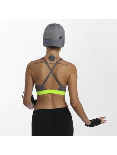 klaring online amazon salg mote stil Nike Ytelse Mujeres Sujetador Desportivo Klassiske Strappy Sport I Gris rabattilbud IhNWuJkqJP