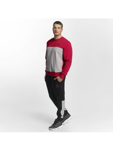 Nike Herren Pullover Flight Fleece Cement in rot