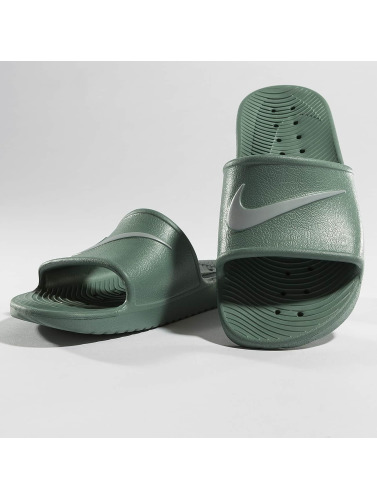 Nike Herren Sandalen Kawa Shower Slide in grün