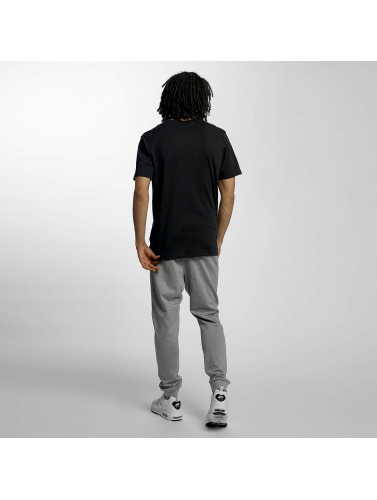 Nike SB Hombres Camiseta SB Logo in negro