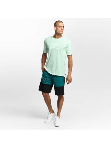 Nike SB Hombres Camiseta Logo in verde