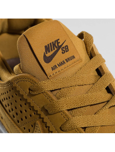 Nike SB Herren Sneaker SB Air Max Bruin Vapor Leather Skateboarding in braun