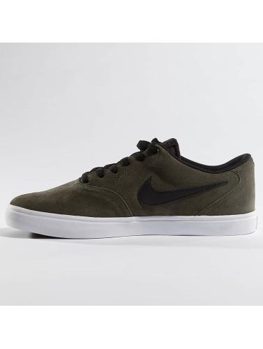 Nike SB Herren Sneaker SB Check Solarsoft Skateboarding in olive