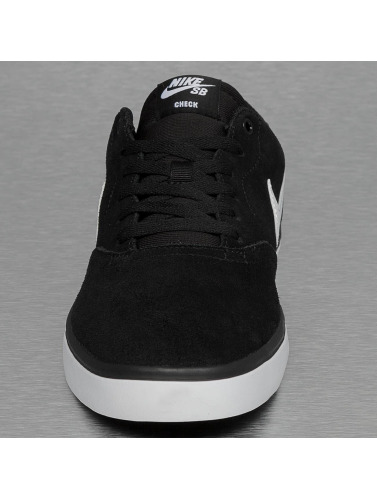 Nike Sb Men Sneaker Sb Check Solarsoft In Black