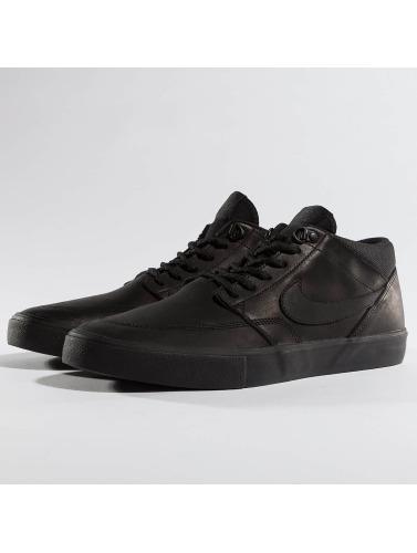 Nike SB Herren Sneaker SB Solarsoft Portmore II Mid in schwarz