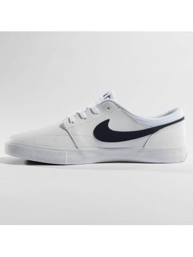 Nike SB Herren Sneaker Solarsoft Portmore ll Premium Skateboarding in weiß