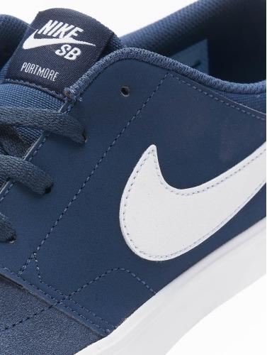 Nike SB Hombres Zapatillas de deporte Solarsoft Portmore ll in azul
