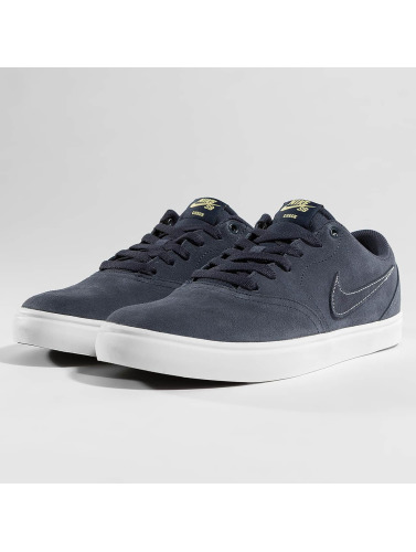 Nike SB Hombres Zapatillas de deporte SB Check Solarsoft Skateboarding in azul