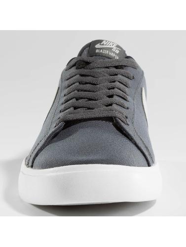 Nike SB Hombres Zapatillas de deporte SB Blazer Vapor Textile Skateboarding in gris