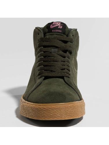 Nike SB Hombres Zapatillas de deporte Zoom Blazer Mid in marrón