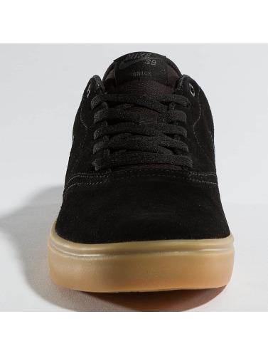 Nike SB Hombres Zapatillas de deporte Check Solarsoft Skateboarding in negro