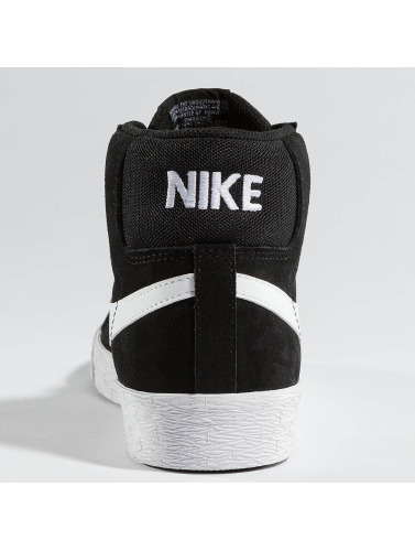 Nike SB Hombres Zapatillas de deporte SB Zoom Blazer Mid Skateboarding in negro