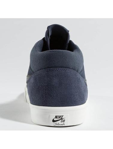Nike Herren Sneaker SB Solarsoft Portmore ll Mid Skateboarding in blau