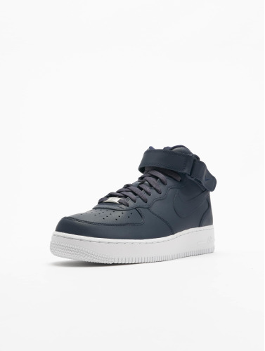 Nike Herren Sneaker Air Force 1 Mid 07 In Blau