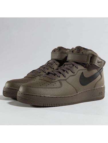 Nike Damen Sneaker Air Force 1 Mid '07 in braun