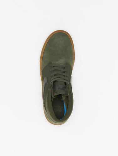Nike Herren Sneaker SB Solarsoft Portmore ll Mid Skateboarding in grün