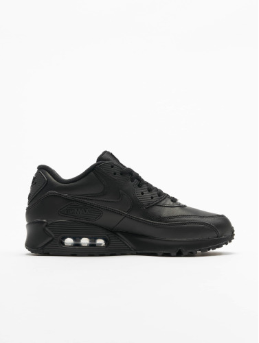 Nike Herren Sneaker Air Max 90 Leather in schwarz