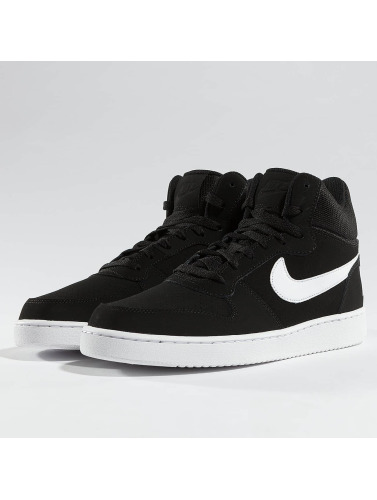Nike Sneaker Court Borough Mid in schwarz