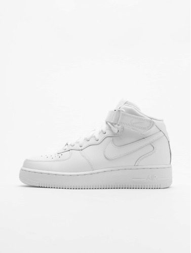 Nike Herren Sneaker Air Force 1 Mid '07 Basketball Shoes in wei