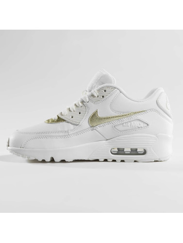 Nike Sneaker Air Max 90 Leather (GS) in weiß