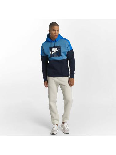 Nike Hombres Sudadera Aegean in azul