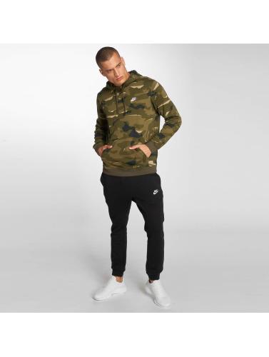 Nike Hombres Sudadera Sportswear Club Fit in oliva