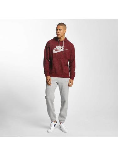 Nike Hombres Sudadera NSW Legacy in rojo