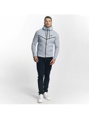 Nike Hombres Sudaderas con cremallera Windrunner in gris