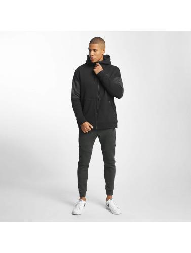 Nike Hombres Sudaderas con cremallera NSW Air in negro