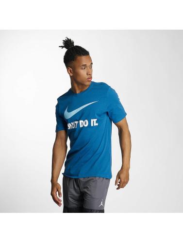 Nike Herren T-Shirt New JDI Swoosh in blau