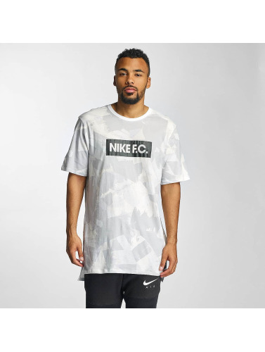 Nike Hombres Tall Tees FC AOP 4 in gris