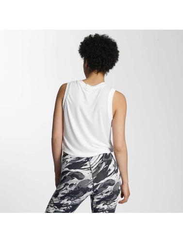 Nike Réservoir Mujeres Tête Essentielle De Sport En Blanco jeu commercialisable achat lVZdQTsmhZ