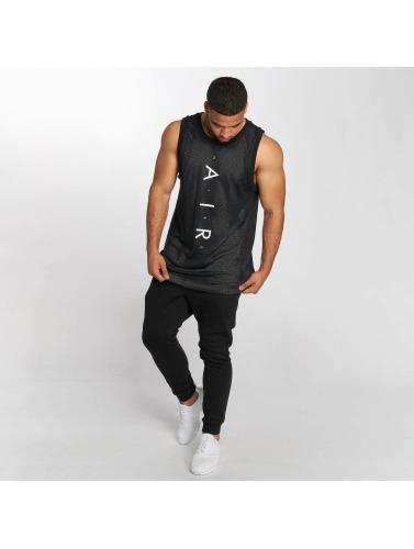 Nike Hombres Tank Tops Sportswear Air Knit in negro