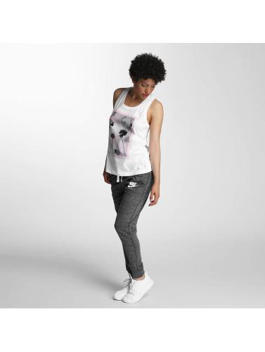 Nike Dames Débardeurs Nsw Photo En Blanc