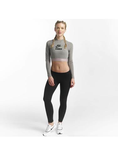 Preiswerte Neue Nike Damen Top Sportswear in grau Offizieller Online-Verkauf Outlet Besten Preise hAwLhvSA
