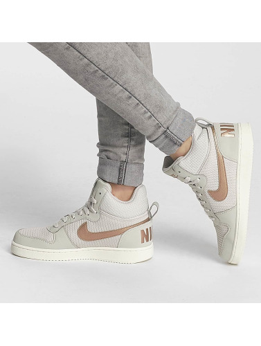 Nike Mujeres Zapatillas de deporte Recreation Mid-Top Premium in beis