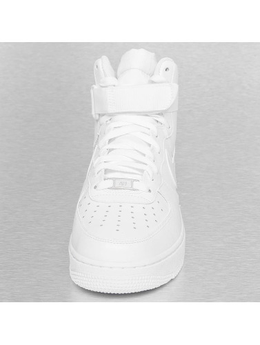 Nike Hombres Zapatillas de deporte Air Force 1 High 07 in blanco