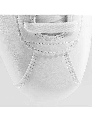 Nike Mujeres Zapatillas de deporte Classic Cortez Leather in blanco
