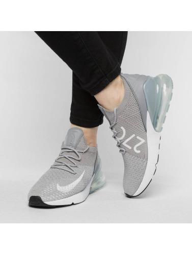 Nike Mujeres Zapatillas de deporte Air Max 270 Flyknit in gris