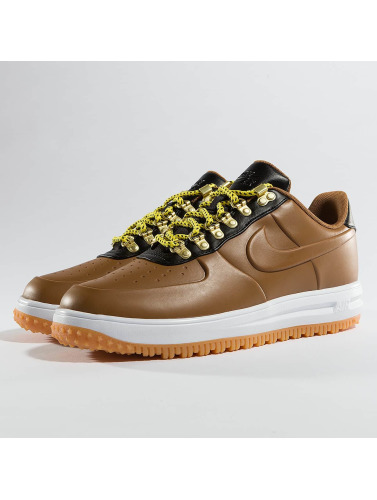 Nike Hombres Zapatillas de deporte Lunar Force 1 Low Duckboot in marrón