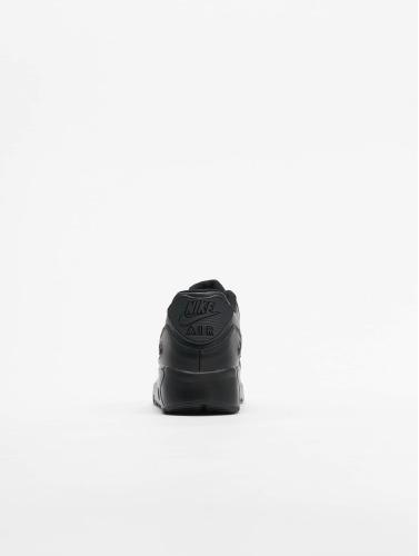 unisex Nike Joggesko Air Max 90 Skinn (gs) I Svart rabatt butikk ZRDVY7