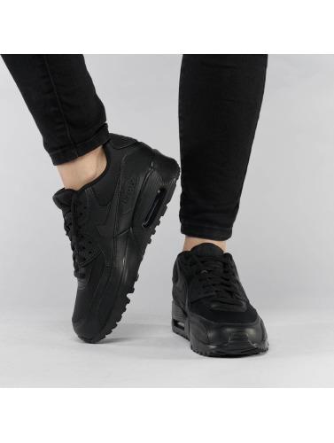 Nike Zapatillas de deporte Air Max 90 Mesh (GS) in negro