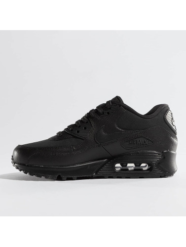 Nike Mujeres Zapatillas de deporte Air Max 90 Leather in negro