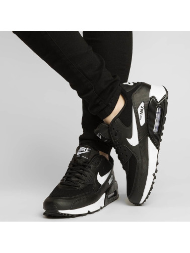 Kvinner Nike Air Max Joggesko 90 I Svart rabatter kIrLmu