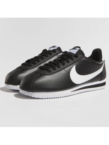 Nike Mujeres Zapatillas de deporte Cortez Leather in negro